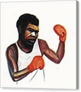Battling Siki Canvas Print