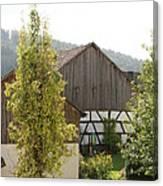 Bavarian Barn Canvas Print