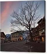 Bavarian Christmas Canvas Print