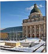 Bavarian State Chancellery Canvas Print