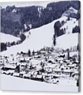 Bavarian Village Canvas Print
