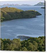 Bay And Outlying Islands Off Rinca Canvas Print