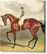 Bay Middleton Winner Of The Derby In 1836 Canvas Print