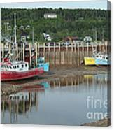 Bay Of Fundy - Low Tide Canvas Print