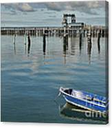 Bay Of Whispers Canvas Print