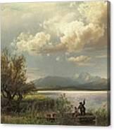 Bayern Landscape Canvas Print