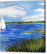 Bayville Marsh Canvas Print