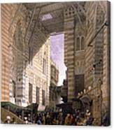 Bazaar Of The Silk Mercers Canvas Print