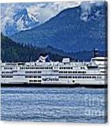B.c. Ferries Canvas Print