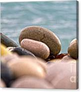 Beach And Stones Canvas Print