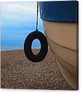 Beach Boat Canvas Print