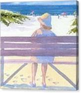 Beach Break Canvas Print