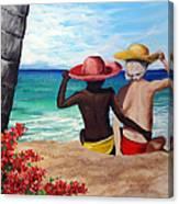 Beach Buddies Canvas Print