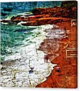 Beach Fantasy Canvas Print
