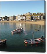 Beach Front, St Ives, Cornwall Canvas Print