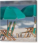 Beach Furniture I Canvas Print