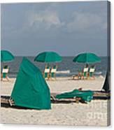 Beach Furniture II Canvas Print
