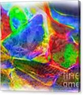 Beach Glass Abstract Canvas Print