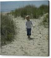 Beach Memories Canvas Print