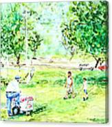 Beach Park  Canvas Print