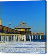 Beach Pier Canvas Print
