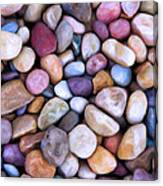 Beach Rocks 2 Canvas Print