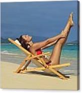 Beach Stretches Canvas Print