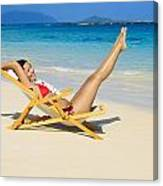 Beach Stretching Canvas Print