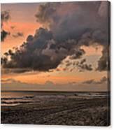 Beach Sunrise Obx  - C0983d Canvas Print