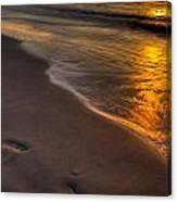 Beach Walk - Part 2 Canvas Print