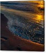Beach Walk - Part 4 Canvas Print