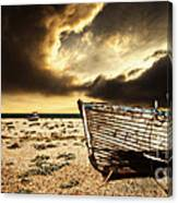 Beached In Color Canvas Print