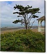 Beachside Gazebo Canvas Print