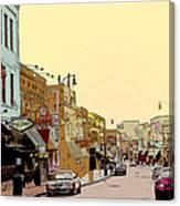 Beale Street Canvas Print