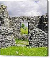 Beam Engine House Remains At Magpie Mine - Sheldon Canvas Print