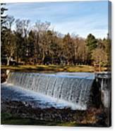 Bear Creek Lake Waterfall Canvas Print