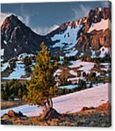 Beartooth Sunrise Light Canvas Print