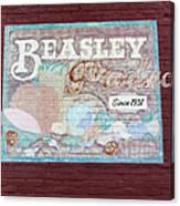Beasley Produce Since 1931 Canvas Print