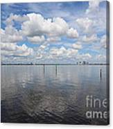 Beautiful Day In Tampa Canvas Print