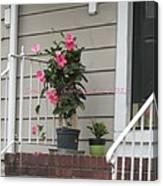 Beautiful Floral Entrance Canvas Print