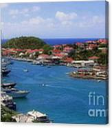 Beautiful Gustavia Canvas Print