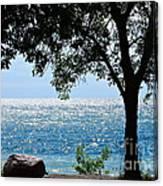 Beautiful Morning On The Lake Canvas Print