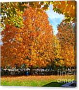 Beautiful New England Colors Canvas Print
