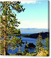 Beautiful Tahoe Canvas Print