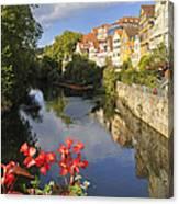 Beautiful Tuebingen In Germany Canvas Print