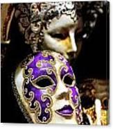 Beautiful Venetian Masks Canvas Print
