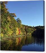 Beauty Lake Canvas Print