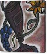 Beauty On The Vine Canvas Print