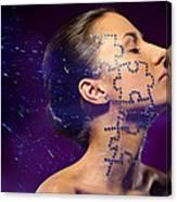 Beauty Puzzles Canvas Print