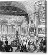 Beaux Arts Ball, 1861 Canvas Print